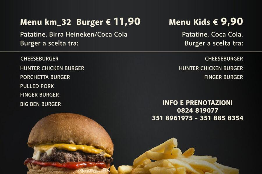 Burger Time al Kilometro 32